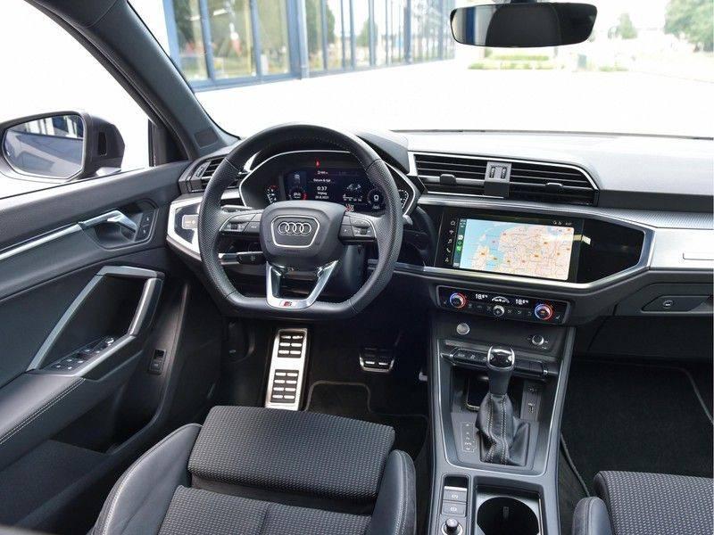 Audi Q3 Sportback 45TFSI 230pk Quattro S-Line Black Optic Pano M-LED Virtual 20-Inch Keyless DAB Stoelverwarming afbeelding 22