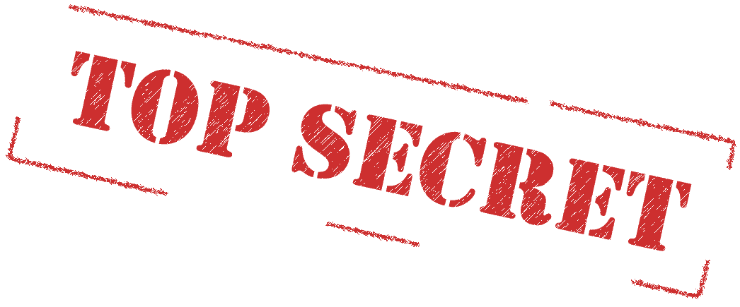 Stempel: Top Secret