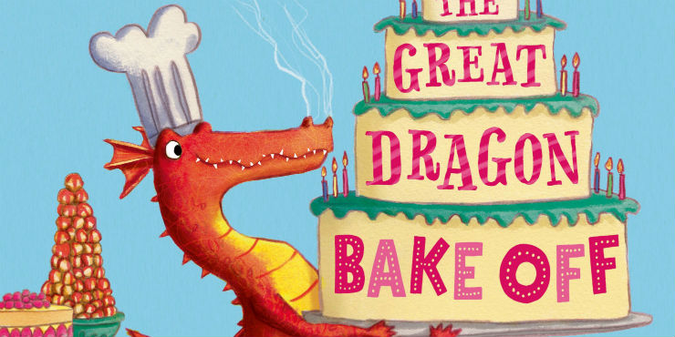 The great dragon bake-off by Nicola O'Byrne