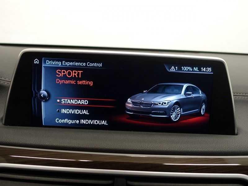 BMW 7 Serie 740D xDrive 320pk Individual M-Sport Aut8 Leer, 360 Camera, Full, 54 dkm afbeelding 19