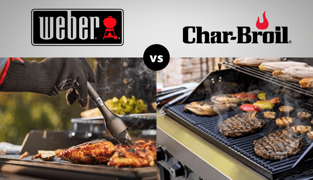 Backyard Grill Battle:, Weber vs. Char-Broil, (2021 Review) cover image