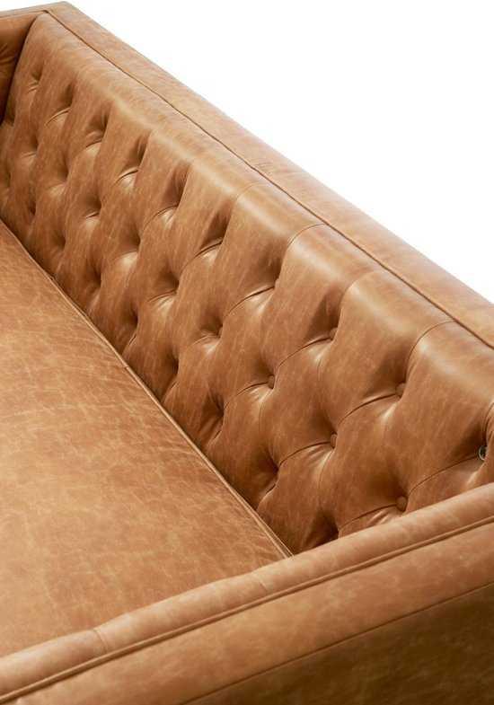 Rivi Ra Maison Central Park Sofa 3zitsbank Taupe 9200000064918210_2 Leer en hout