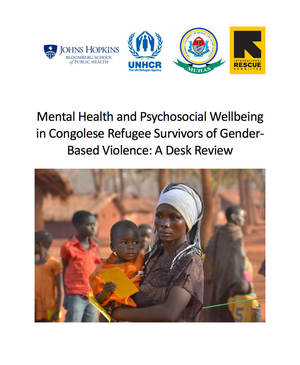Mental health and psychosocial wellbeing in Congolese refugee survivors of gender-based violence