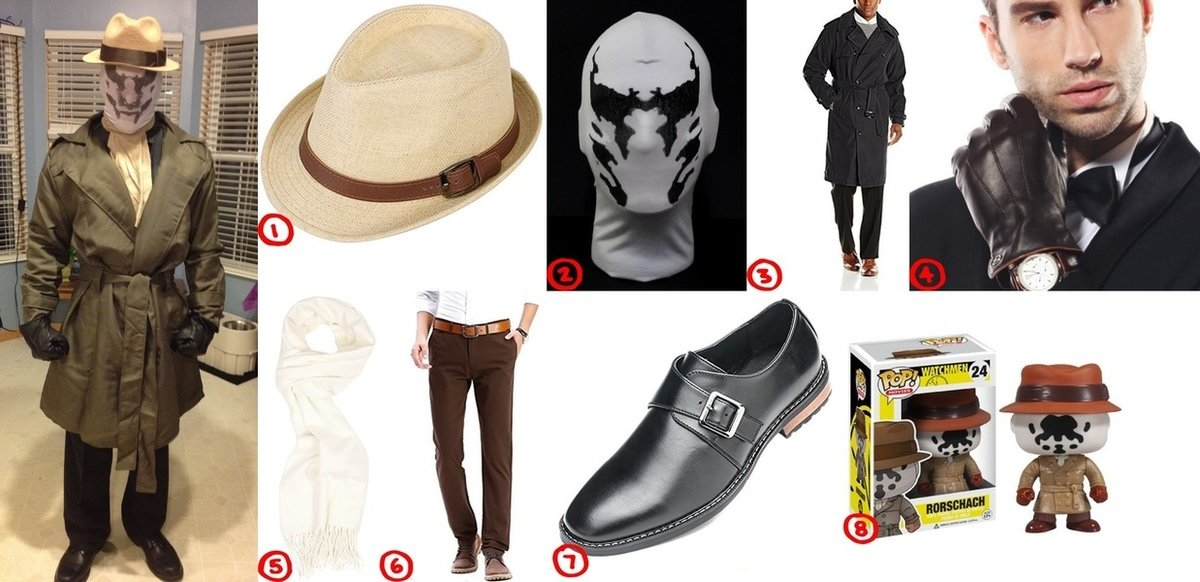 Rorschach Cosplay & Costume Guide