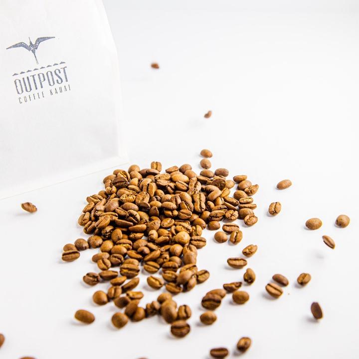 Outpost Coffee | Monarch Farms Gesha 100% Kona Coffee