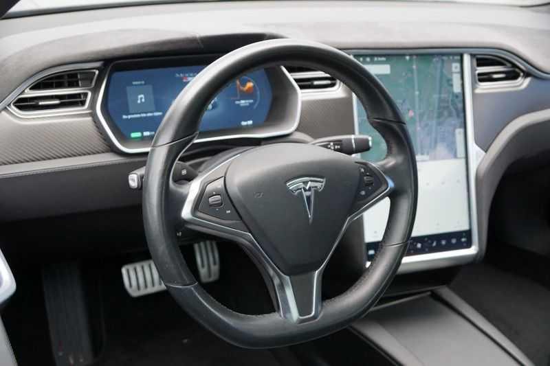 Tesla Model S P90D Performance Ludicrous 576pk / Autopilot / Pano / 21inch / Carbon / 162.500,- Nieuw afbeelding 5