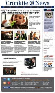 Cronkite News Front Page