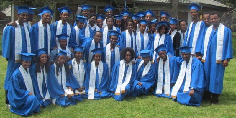 Graduation ceremony LDP students 2014 Ethiopie