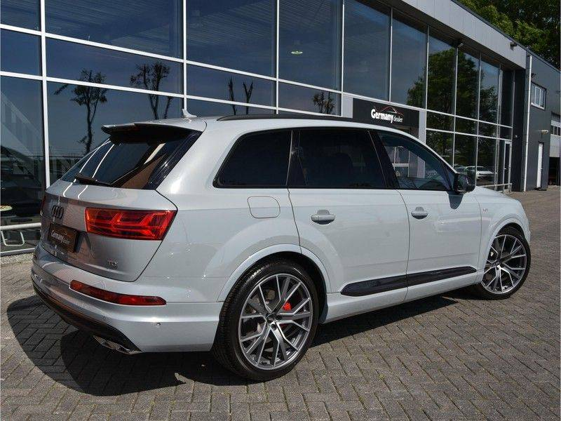 Audi SQ7 4.0TDI Quattro S-Line Individual Lucht Softcl Standk HUD M-Led Rauten Bose Alcant-hemel Leder-Dash afbeelding 2