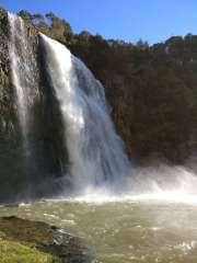 Hunua Falls up close