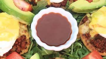 Chorizo Chipotle Eggs Benedict