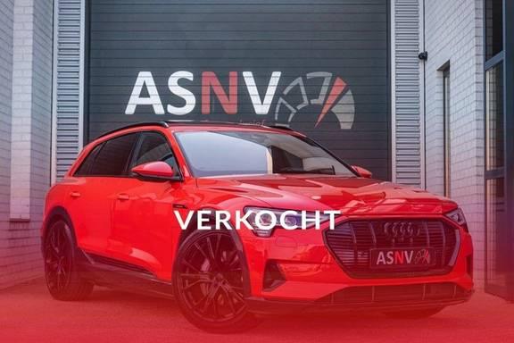 Audi e-tron 55 Quattro Advanced Exterieur, 408 PK, 4% bijtelling, Head/Up display, Pano/Dak, Night/Vision, S-line interieur, 15DKM