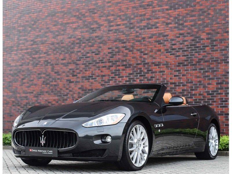 Maserati GranCabrio 4.7S *Grigio Maratta*Bose*Nieuwstaat!* afbeelding 6
