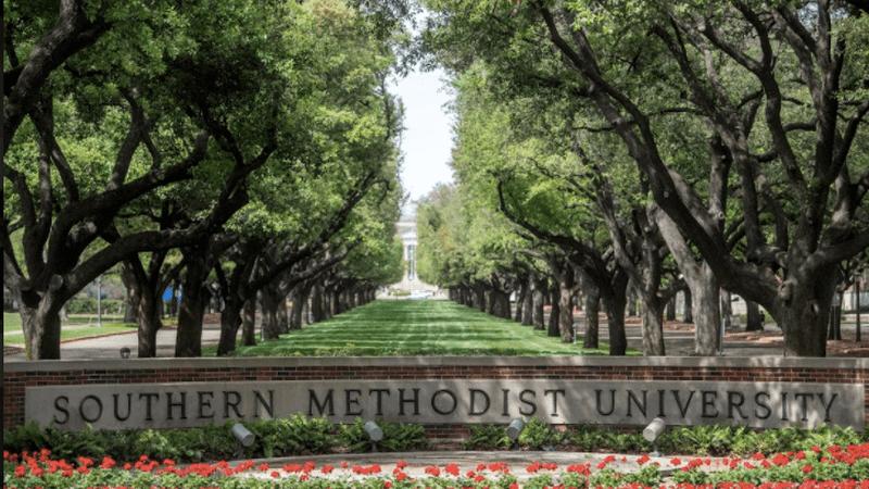 Southern Methodist University campus.