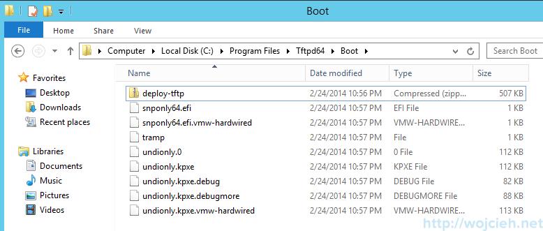 VMware vSphere Auto Deploy TFTPD64 - 5