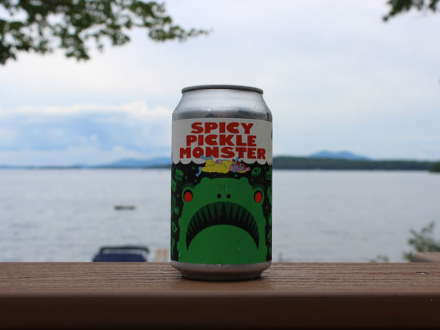 Spicy Pickle Monster, a Sour Ale brewed by Prairie Artisan Ales