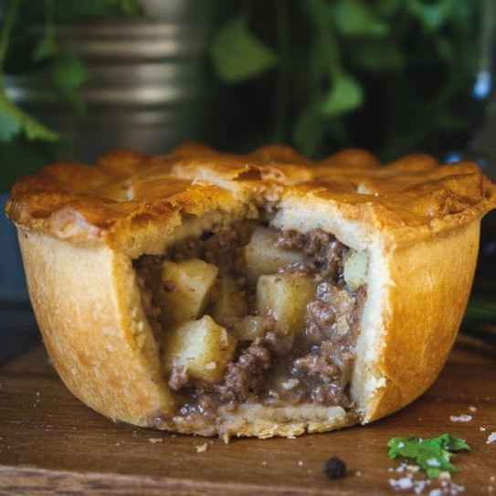 Hearty Beef and Potato Pie