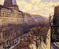 'Boulevard des Italiens' by Gustave Caillebotte (1848–1894) in 1880, oil on canvas