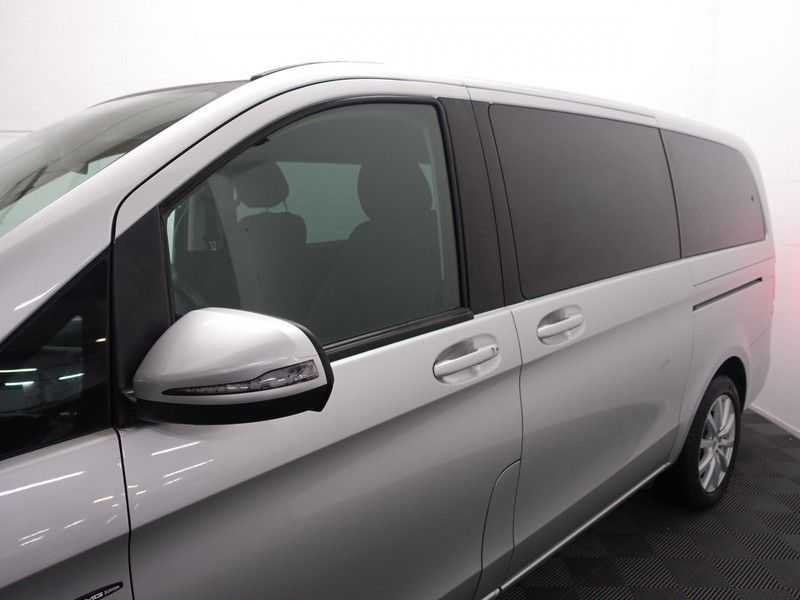 Mercedes-Benz V-Klasse 220 CDI Lang Dubbel Cabine 5/6 Pers Amg Style Autom- Navi, Camera, Xenon afbeelding 4