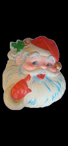 Whispering Santa Face photo
