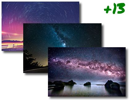 Milky Way theme pack