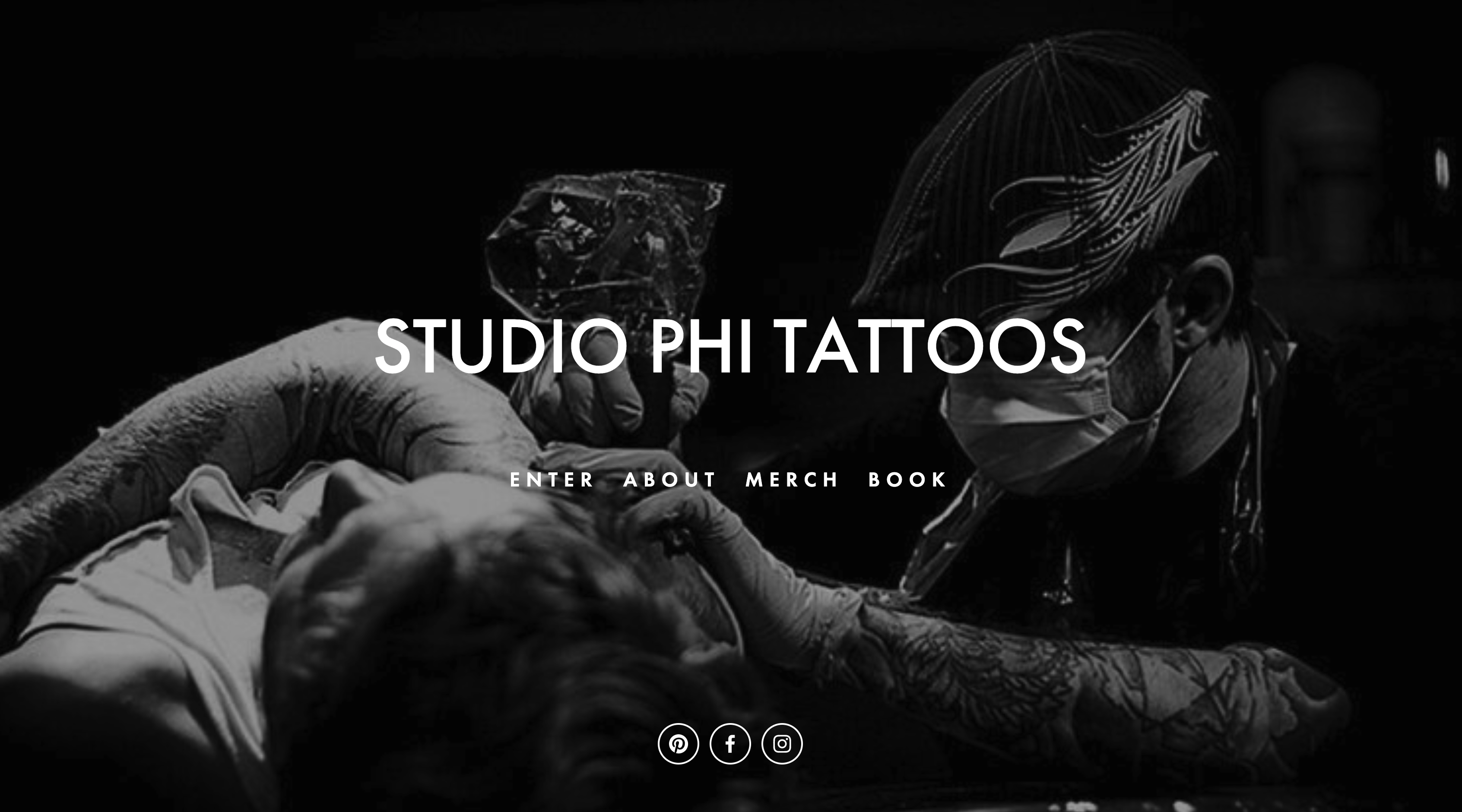 Tattoo Website Designer
