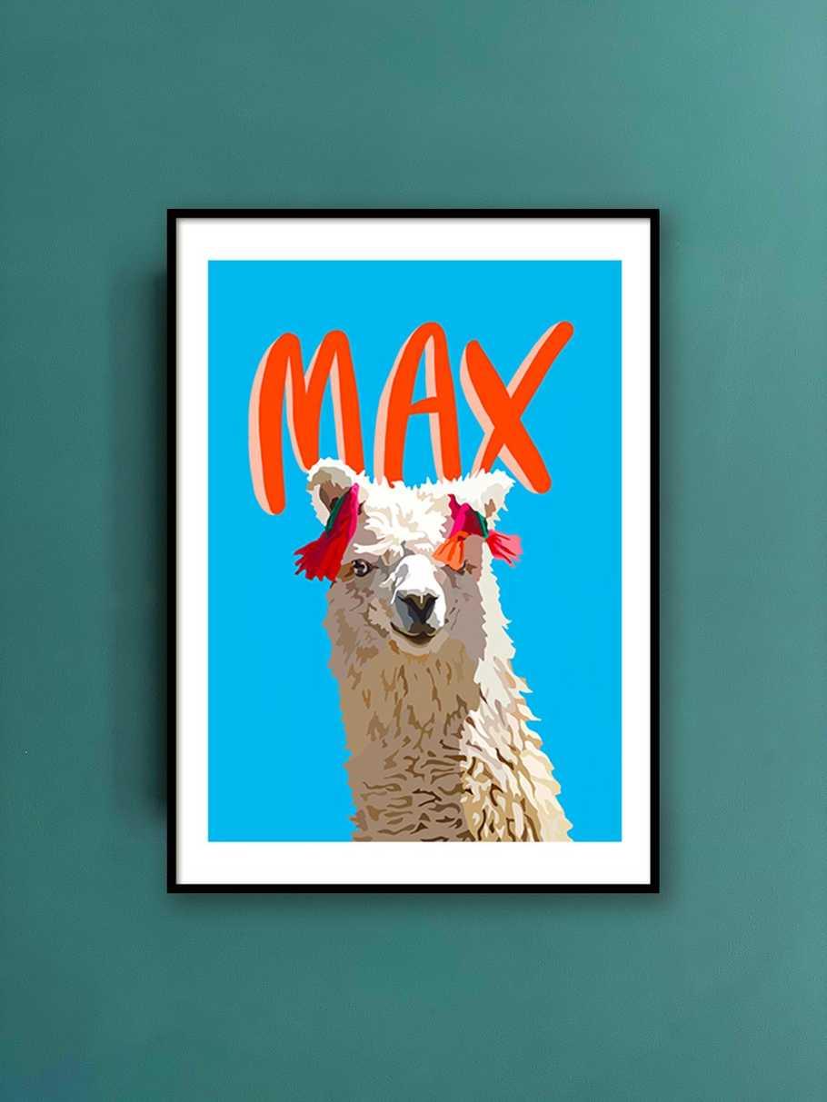 personalised-print-llama