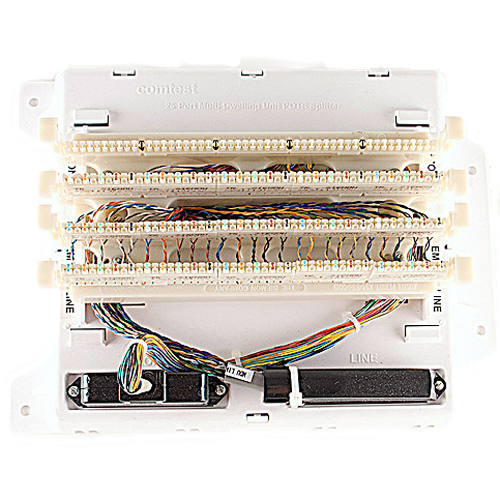 MDU (25 pair) VDSL2 Splitter with 110 Punchdowns product image