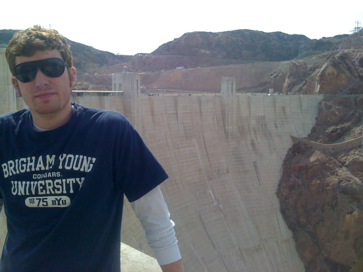 Me at the Hoover Dam