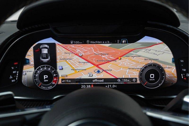 "Audi R8 Exclusive 5.2 FSI V10 Plus 610pk Quattro Volleder+Memory Carbon-Int+Ext MagneticRide VirtualCockpit B&O Keramisch Keyless Navi/MMI 20"" Camera Pdc afbeelding 23"