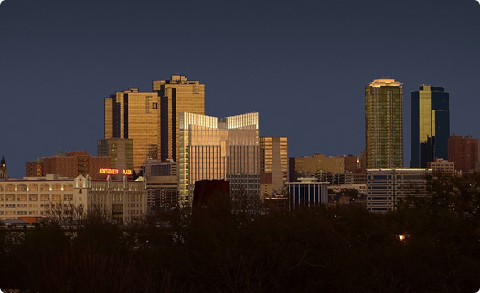 Fort Worth, Texas Skyline