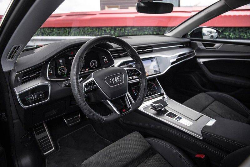 Audi A7 Sportback 55 TFSI e 367 pk Quattro Competition | Verlengde garantie | 2 x S-Line | Nachtzicht-assistent | panorama dak | Head-up display | Trekhaak | 360 camera | Stoelverwarming vóór en achter | afbeelding 25