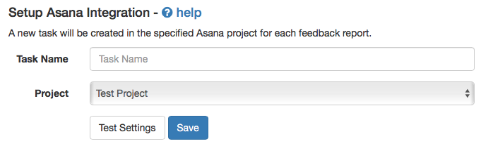 Asana Integration Stage 3