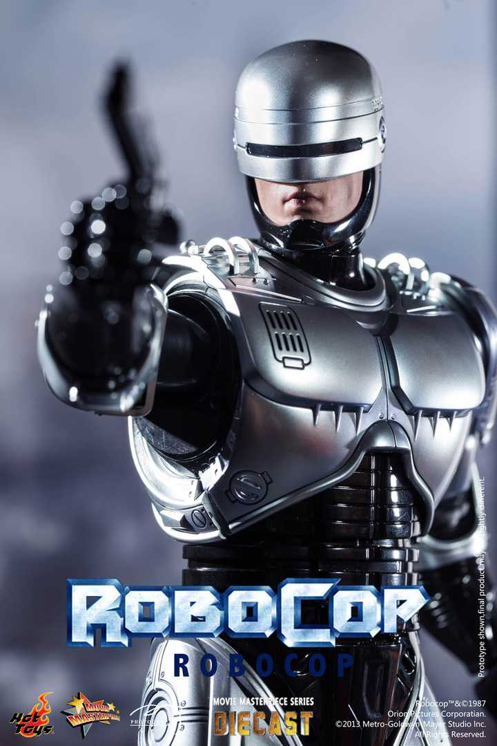 Best Metal Robot from Hot Toys