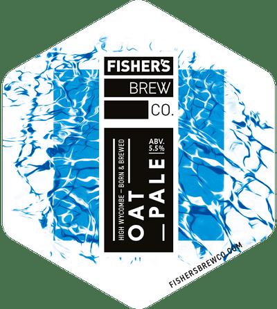 Fisher's Oat Pale pump clip