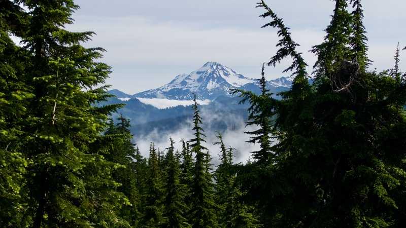A view of Glacier Peak
