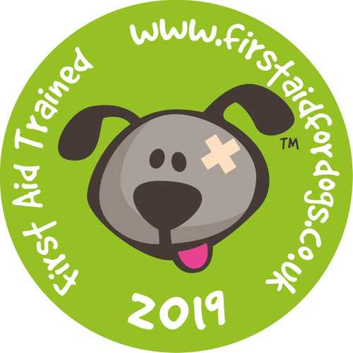 First aid for dogs logo