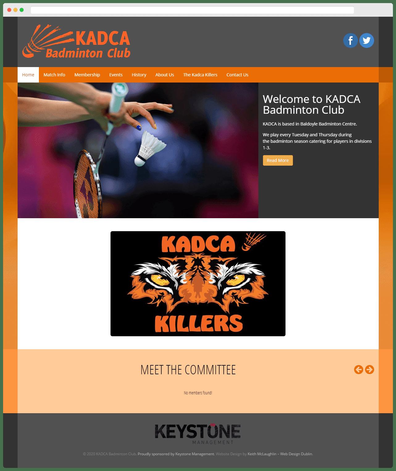 Kadca Badminton Club