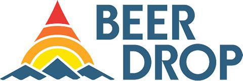 Beer Drop's Logo. Beer Drop is a custom beer subscription service.