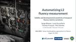 Automatizing L2 fluency measurement: validity and developmental sensitivity of temporal fluency metrics variations