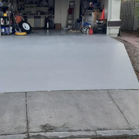 Concrete Driveway Restoration