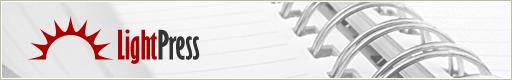 LightPress Website Design Comp