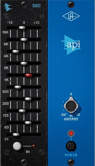 API 560 Graphic EQ