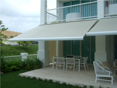 Brasilia Slim Retractable Cassette Awning