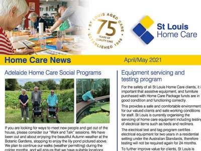 Stlouis HC April may newsletter