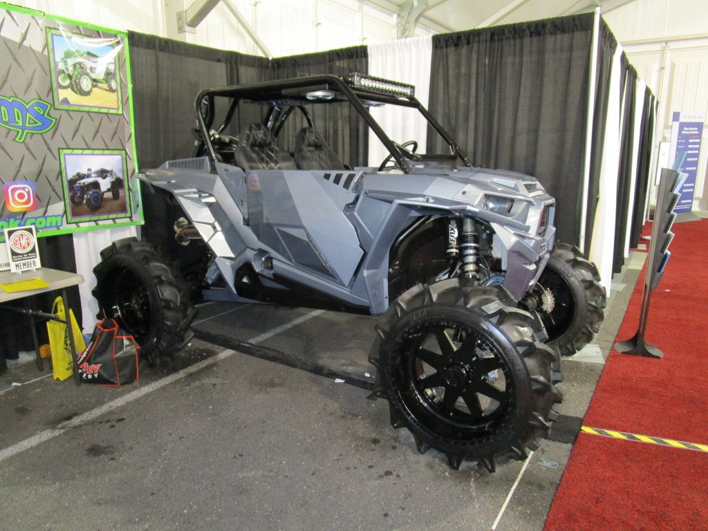 Gray Off-Road Vehicle