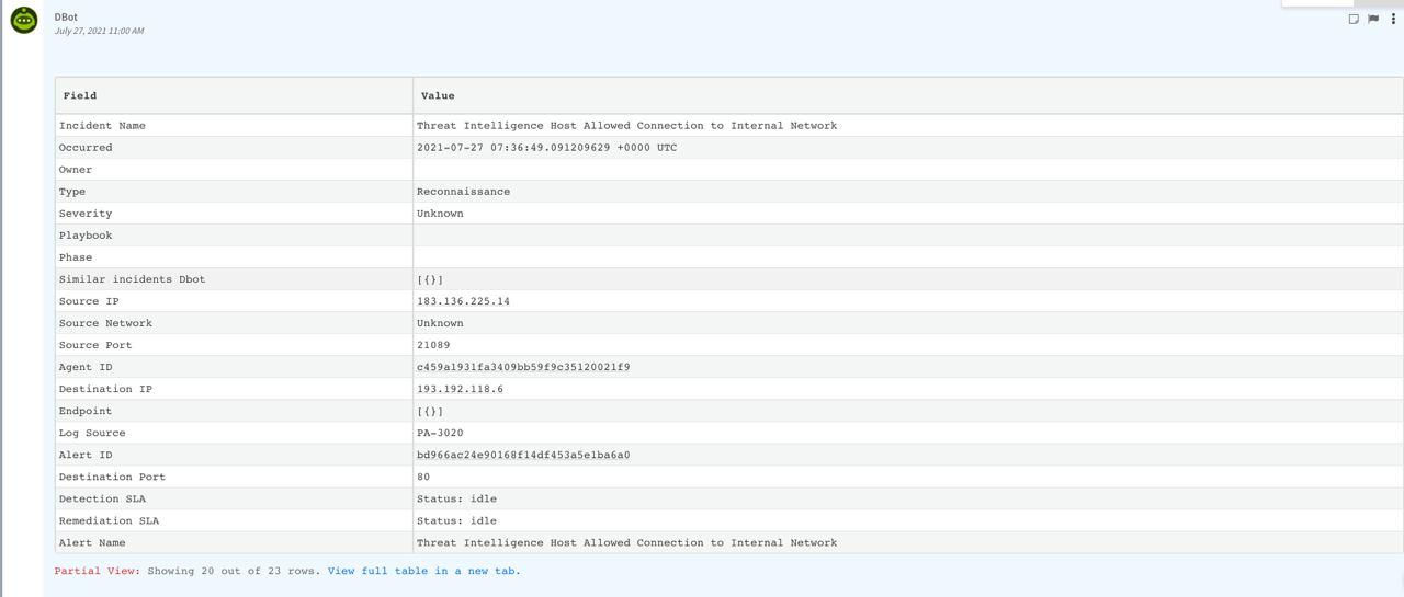 Logsign-FetchIncident-HumanReadable-Data