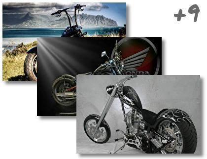 Chopper Bike theme pack