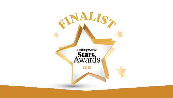 Local Heroes team was nominated at the Utility Week Awards 2018