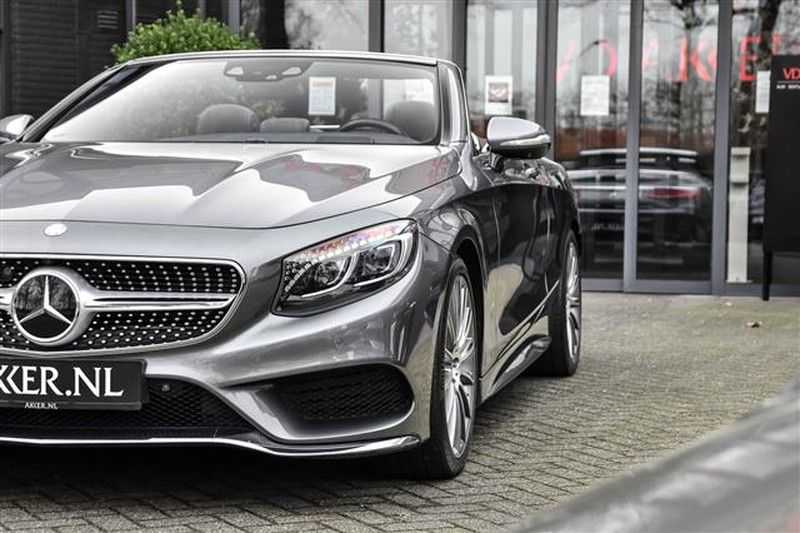 Mercedes-Benz S-Klasse S500 CABRIO AMG-LINE+BURMESTER+HEAD-UP NP.201K afbeelding 14